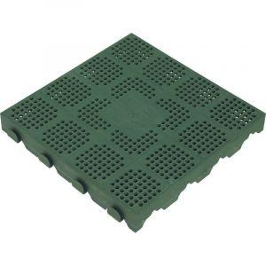 Plastová dlažba 400x400x48 mm  zelená