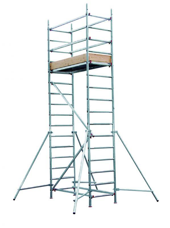 Hliníkové lešení AL 700 pro prac. výšku 5 metrů