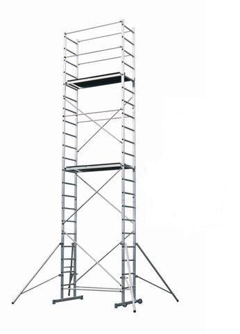 Hliníkové lešení EASY UP pro prac. výšku 7 metrů Hymer