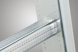 Třídílný hliníkový žebřík Hailo 3x6 příček