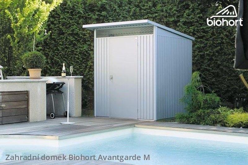 Zahradní domek A4 - 180x380 cm jednokřídlé dveře