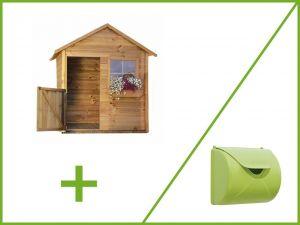 Dětský zahradní domek MATYÁŠ + dopisní schránka