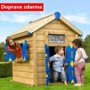 Dětský domek JUNGLE PLAY HOUSE