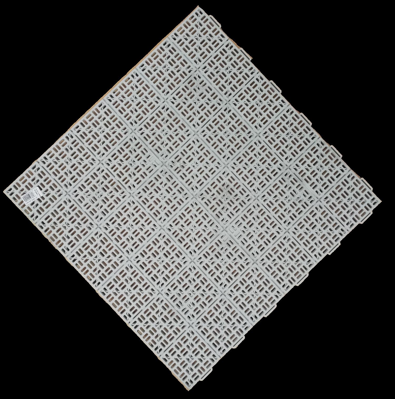 Plastová dlažba MARTE 563x563 mm světle šedá