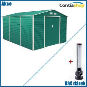 Zahradní domek na nářadí G21 GAH 1300 3,4 x 3,82 m s magnetickou LED svítilnou zdarma