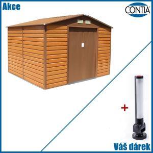 Zahradní domek na nářadí G21 GAH 706 2,77 x 2,55 m s magnetickou LED svítilnou zdarma