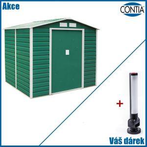 Zahradní domek na nářadí GAH 407 2,13 x 1,91 m s magnetickou LED svítilnou zdarma
