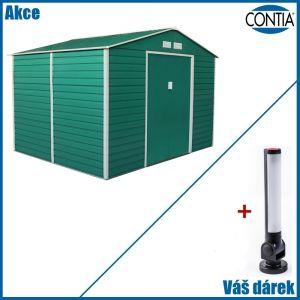 Zahradní domek na nářadí GAH 884 2,77 x 3,19 m s magnetickou LED svítilnou zdarma