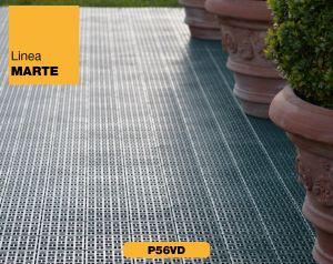 Zahradní plastová dlažba a plastové rohože