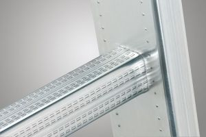 Třídílný hliníkový žebřík Hailo 3x12 příček