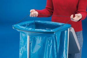 Stojan na odpadkové pytle Hailo ProfiLine WS 2x120 vč.koleček