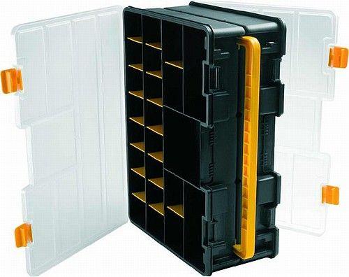 Oboustranný plastový organizér s přestavitelnými přepážkami 4600 Art Plast