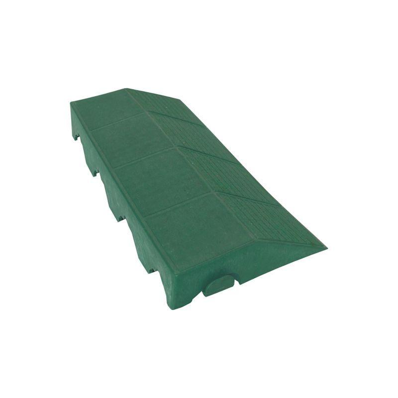 Plastový panel boční s otvorem zelený