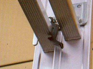 Třídílný hliníkový žebřík profi 3x13 příček