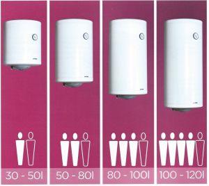 Akumulační bojler Metalac Praktik 120 litrů