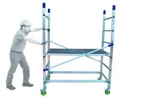Hliníkové pojízdné lešení ALTO 1 pro prac. výšku 3 metry