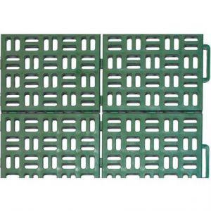 Plastová dlažba MARTE 563x563 mm zelená Art Plast