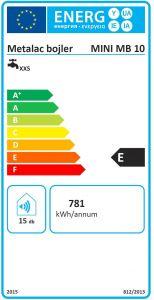 Beztlakový elektrický ohřívač vody 10 l - plast