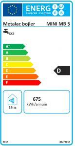 Beztlakový elektrický ohřívač vody 5 l - plast Metalac