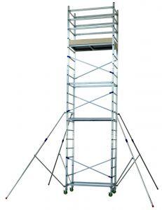 Hliníkové pojízdné lešení ALTO 1+2+3 pro prac. výšku 6,9 metru