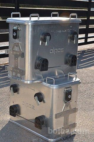 Hliníkový box pro motocykly - zadní