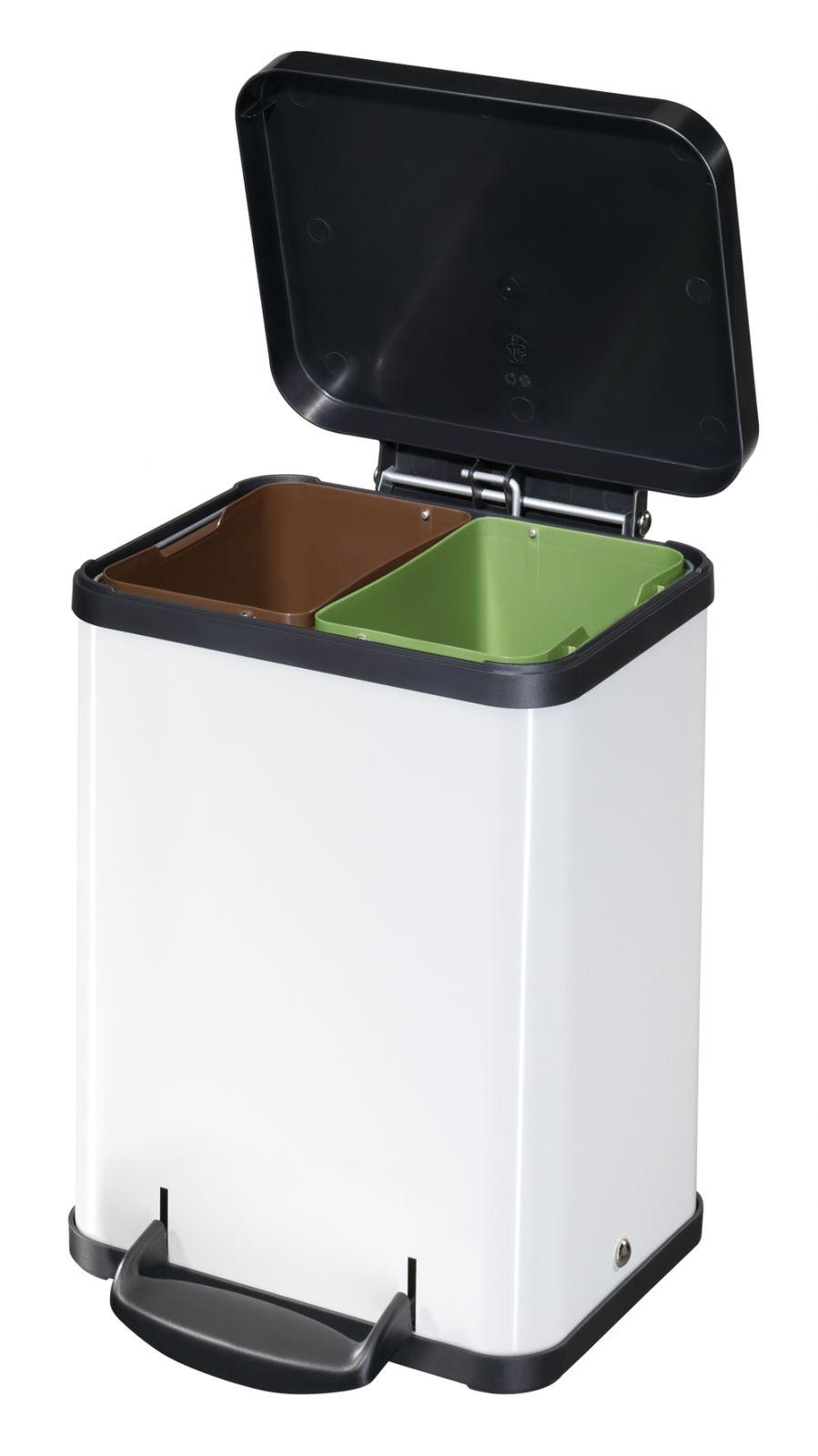 Koš na tříděný odpad Hailo Öko duo Plus M 2x9 litrů