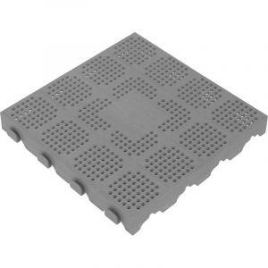 Plastová dlažba 400x400x48 mm šedá