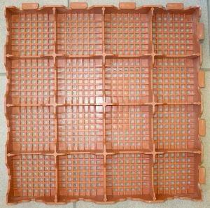 Plastová dlažba Combi line 400x400x48 mm šedá Art Plast