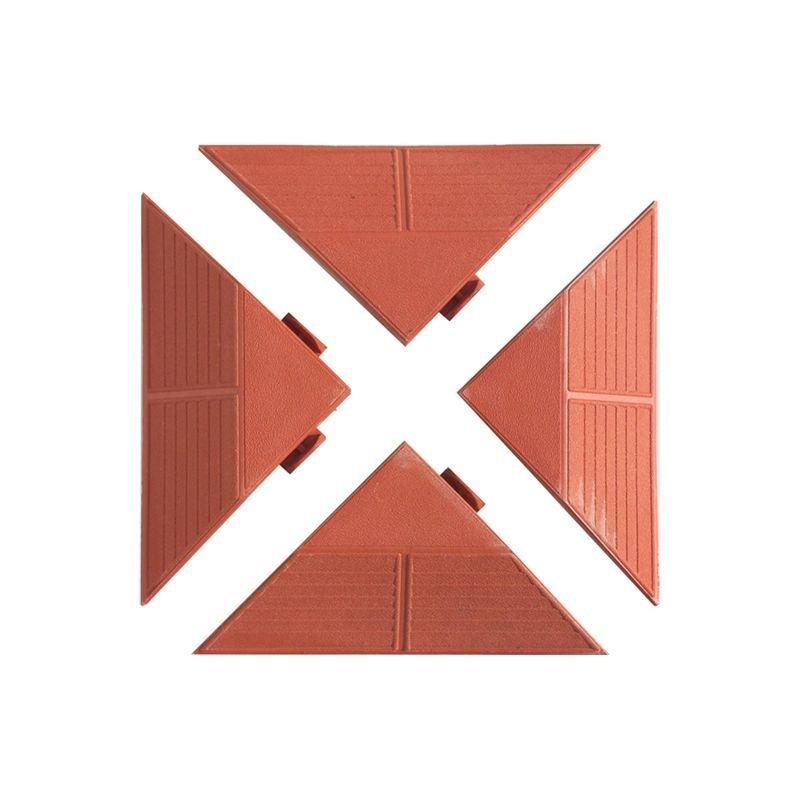 Plastové panely rohové červené