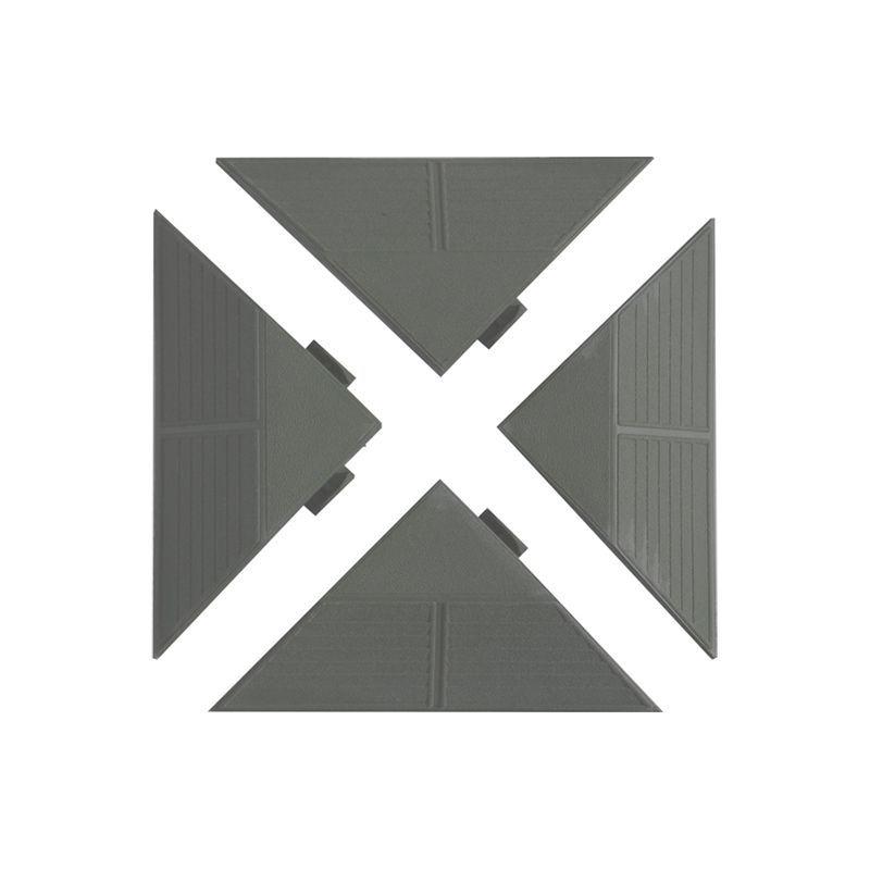 Plastové panely rohové šedé Art Plast