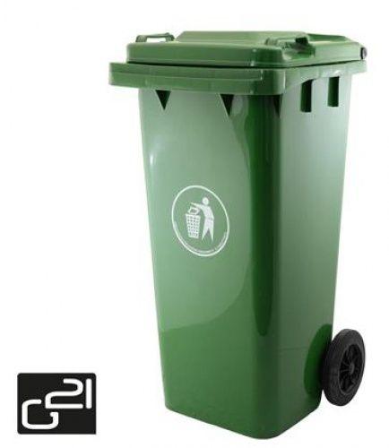 Popelnice plastová 120 litrů zelená