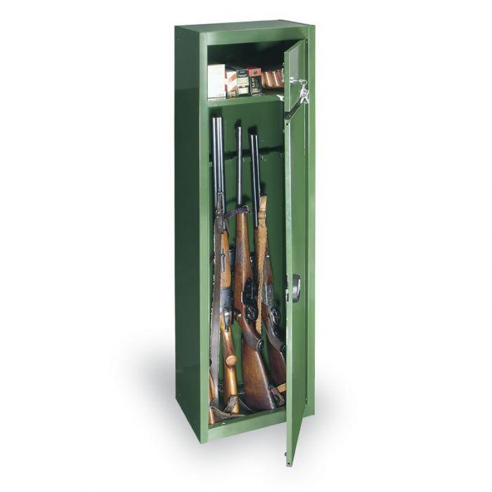 Trezorová skříň na dlouhé zbraně 1500x370x265 mm COMSAFE