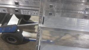 Hliníkové schůdky Hailo L60 7+1 II.jakost