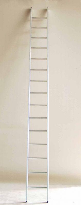 Jednodílný hliníkový žebřík profi 15 příček ALPOS