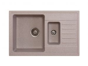 Kuchyňský dřez Metalac granitový - XQuadro plus 1.5D