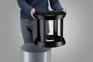 Venkovní odpadkový koš s popelníkem Hailo ProfiLine Combi Plus 30 litrů