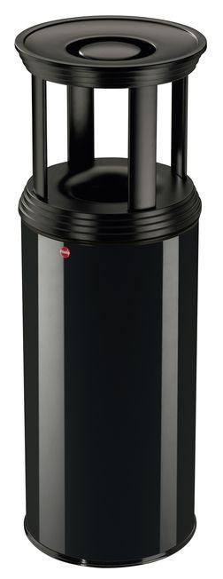 Venkovní odpadkový koš s popelníkem Hailo ProfiLine Combi Plus 50 litrů