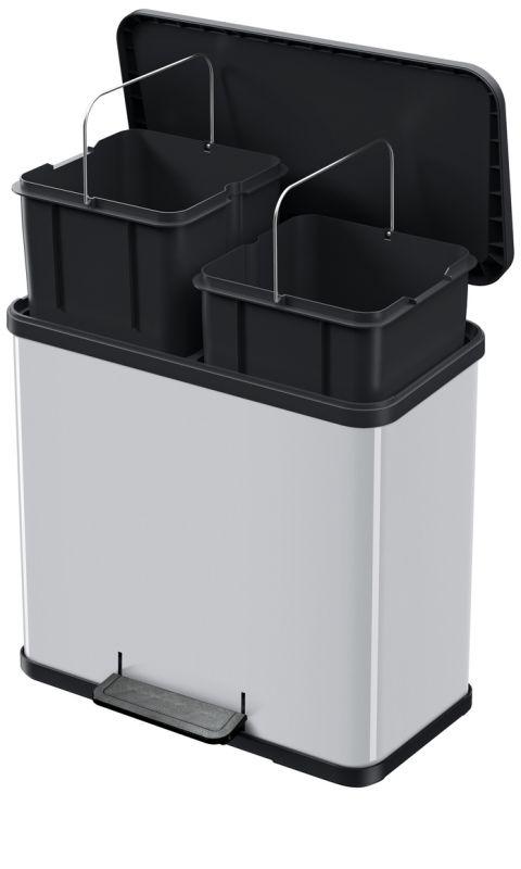 Koš na tříděný odpad Hailo Öko duo Plus L 2x14 litrů