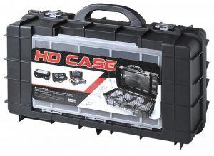 Plastový kufr HD CASE CARBO na elektrozařízení