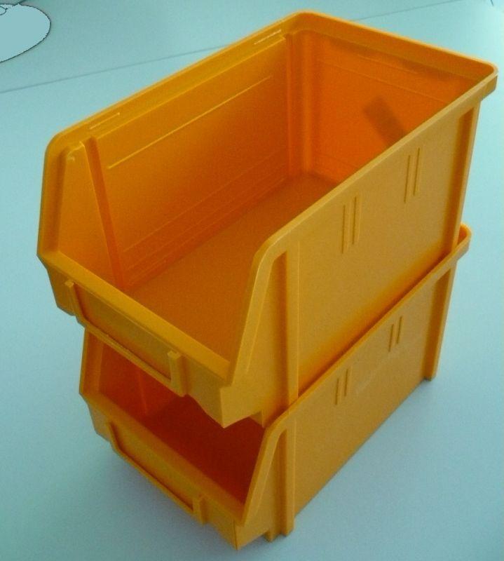 Plastový box na šroubky 104 - žlutý