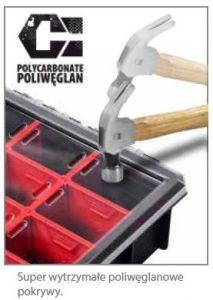 Plastový organizér HD 600 FLEX