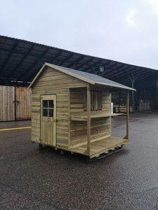 Dětský zahradní domek KIOSK 1594x1660x1741 mm
