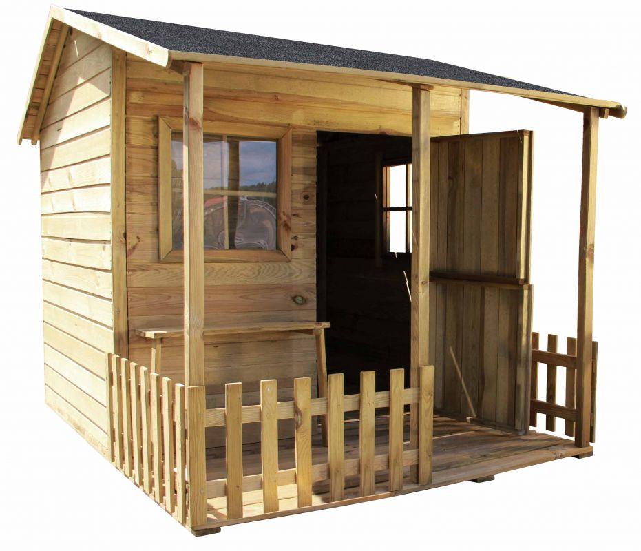 Dětský zahradní domek MADOCK 1430x1590x1905 mm