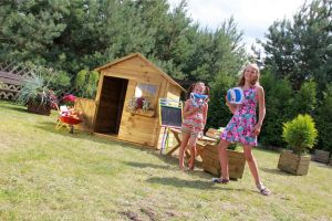 Dětský zahradní domek MATYÁŠ 1120x1580x1260 mm + dopisní schránka
