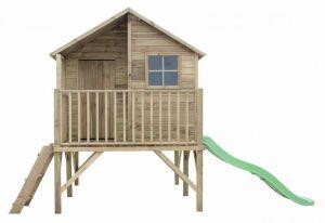 Dětský zahradní domek JIŘÍK 1741x2505x2260 mm + zvon