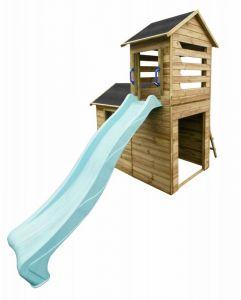 Dětský zahradní domek se skluzavkou RALF