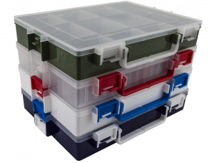 Sada plastových organizérů IDEAL BOX
