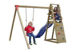 Dětské hřiště se skluzavkou DOMINIK 2500x2350x2900 mm