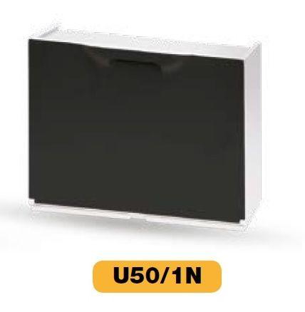 Plastový botník Artplast - bílo - černý