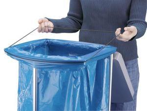 Stojan na odpadkové pytle Hailo ProfiLine WS 3x120 vč. koleček